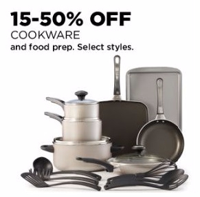 15-50% Off Cookware and Food Prep