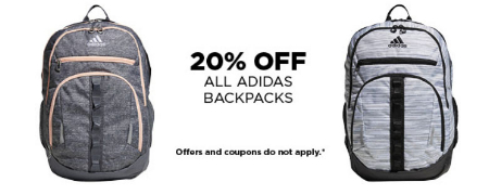 Berlin Mall     20% Off All Adidas Backpacks     Kohl s 36cddf90fd4e5
