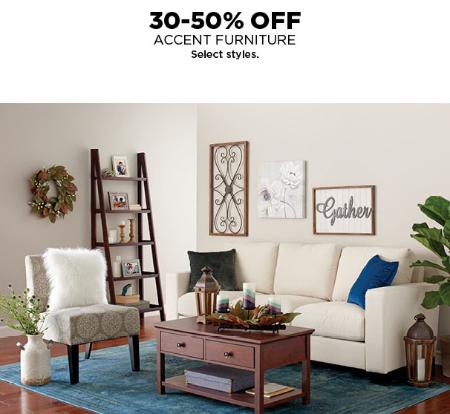 30 50% Off Accent Furniture