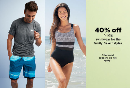 d92633bcf8ff5 Northgate ::: 40% Off Nike Swimwear ::: Kohl's