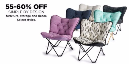 55–60% Off Simple by Design Furniture, Storage and Decor