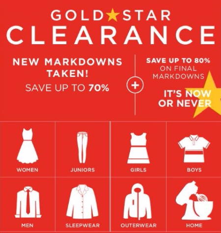 Up to 70% Off New Clearance Markdowns Plus More