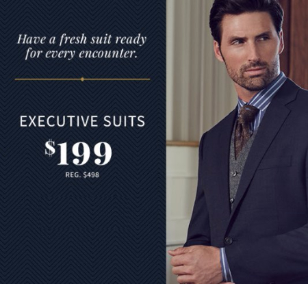 $199 Executive Suits