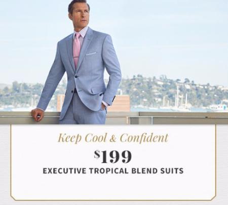 $199 Executive Tropical Blend Suits