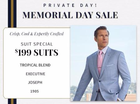 $199 Suit Special