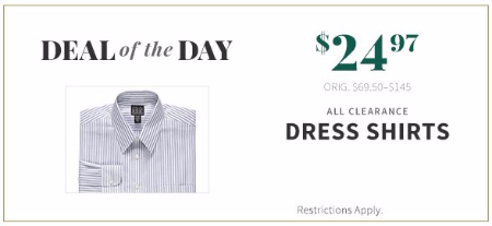 $24.97 All Clearance Dress Shirts