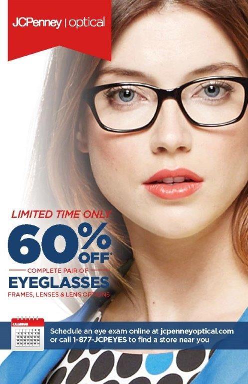 60% off Glasses