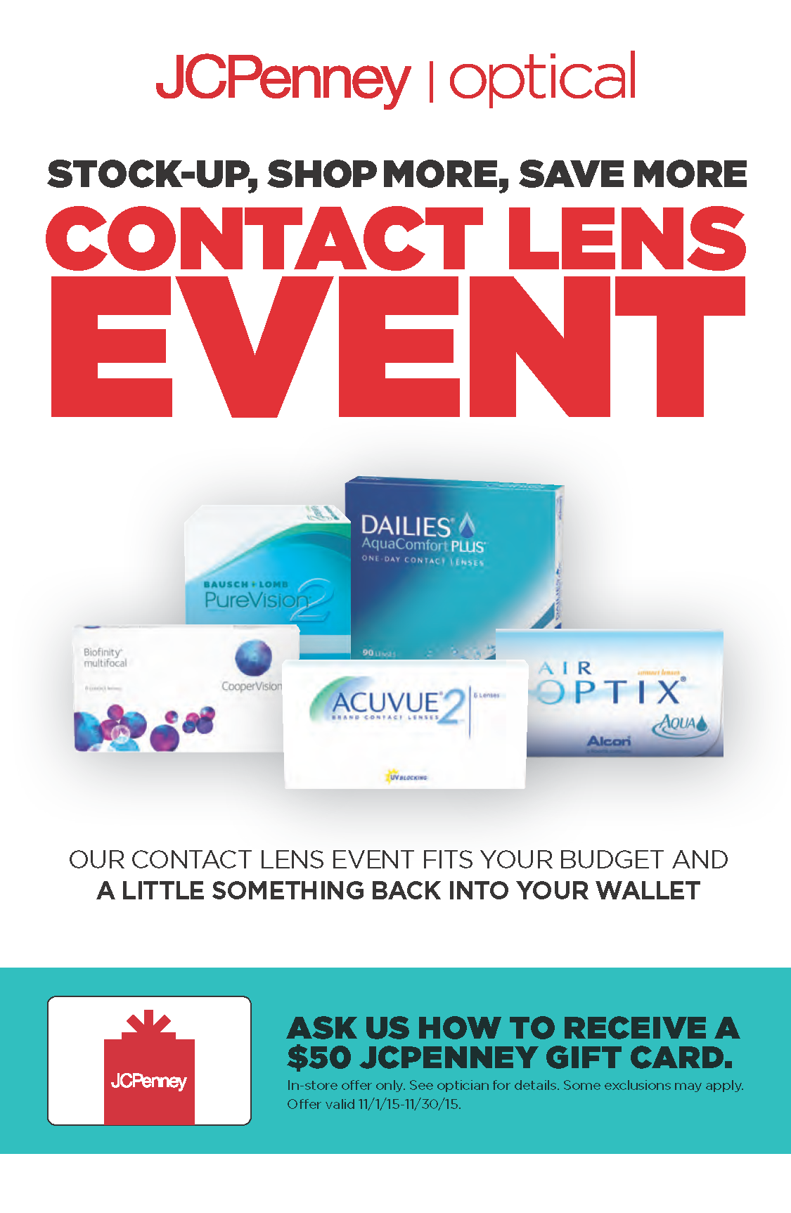 Contact Lens Event
