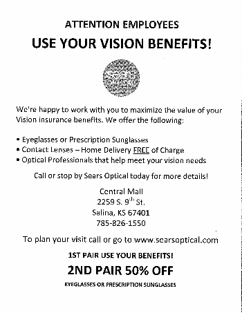 Use your vision benefits!