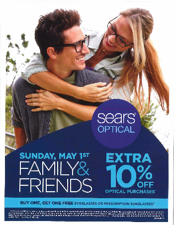 Friends and Family! BOGO FREE glasses!