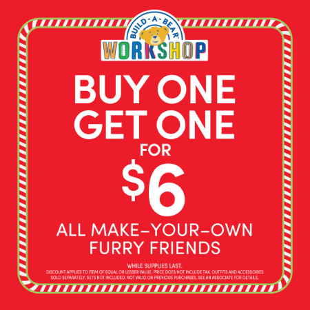 La Palmera ::: Buy One, Get One for $6 ::: Build-A-Bear Workshop®