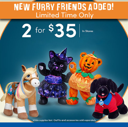 2 For $35 Furry Friends