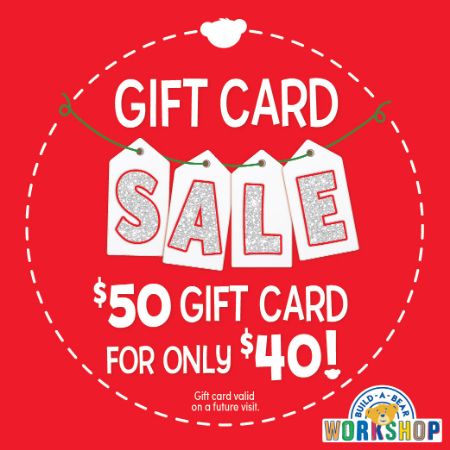 Carriage Crossing Gift Card Sale Build A Bear Workshop