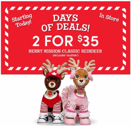 Merry Mission Classic Reindeer 2 for $35