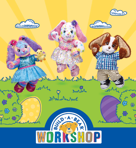 Build-A-Bear Workshop® | Hunt up Some Fun with Three  New Bunny Furry Friends!