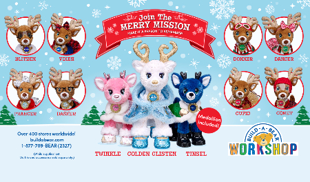 Join the Merry Mission at Build-A-Bear Workshop