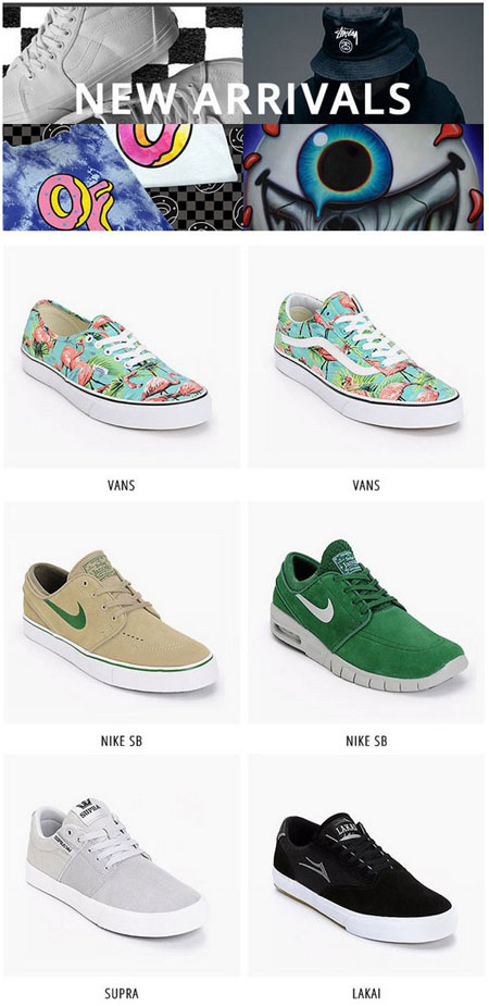 Shop New Arrivals At Zumiez