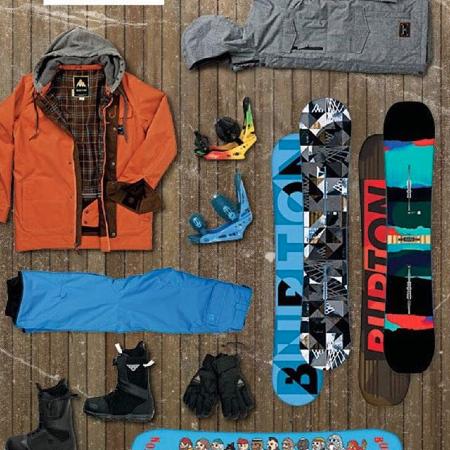 Burton Snowboard Gear