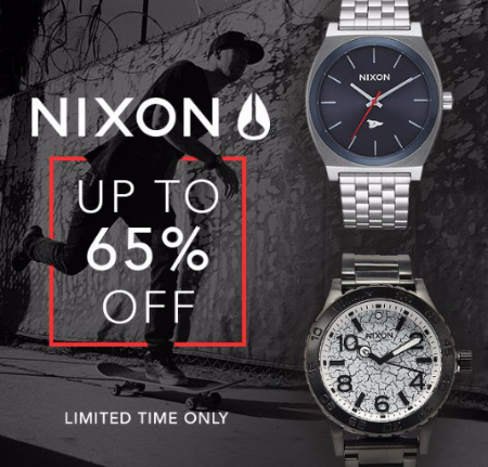 Nixon up to 65% Off