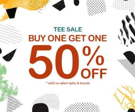 Huntington Mall ::: Tee Sale: Buy One, Get One 50% Off