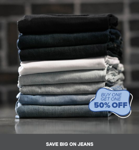 Governor's Square Mall ::: Buy One, Get One 50% Off Jeans