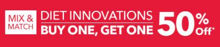 BOGO 50% Off Diet Innovations