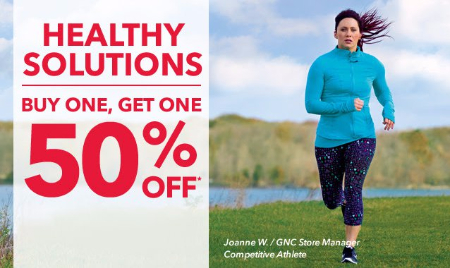 BOGO 50% Off Healthy Solutions