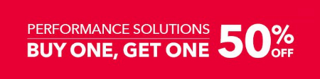 Performance Solutions BOGO 50% Off