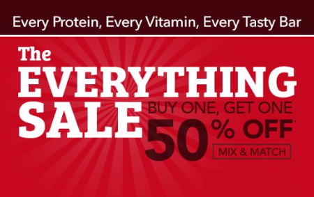 The Everything Sale B1G1 50% Off