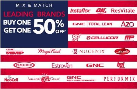 B1G1 50% Off Top Brands
