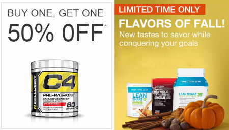 BOGO 50% Off Flavors Of Fall