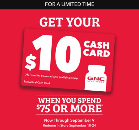 Get Your $10 Cash Card