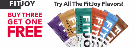 FitJoy Buy Three, Get One Free