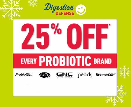 25% Off Probiotic Brand