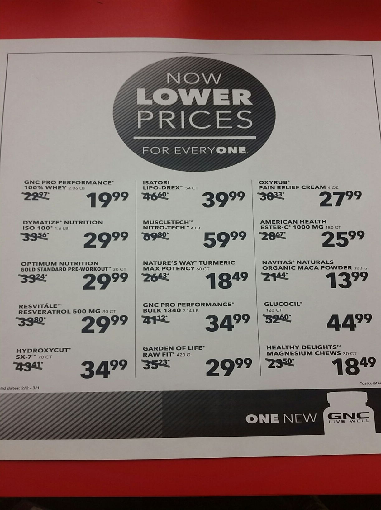 Lower Prices on Some of your Favorite Products
