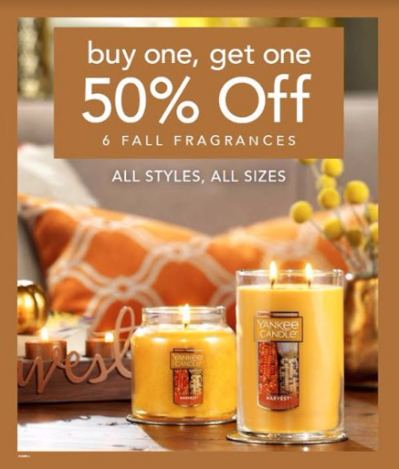 Buy One, Get One 50% Off