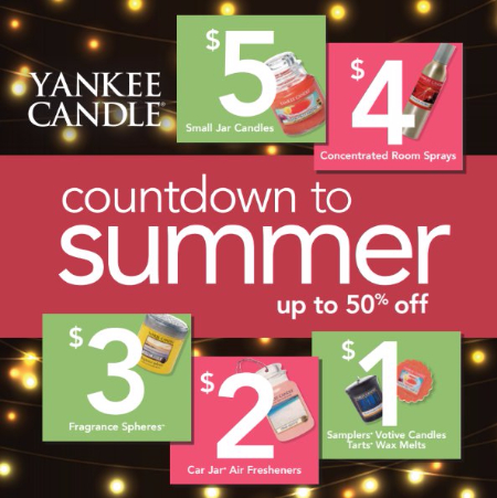 Countdown to Summer up to 50% Off