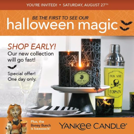 Yankee Candle Halloween Event