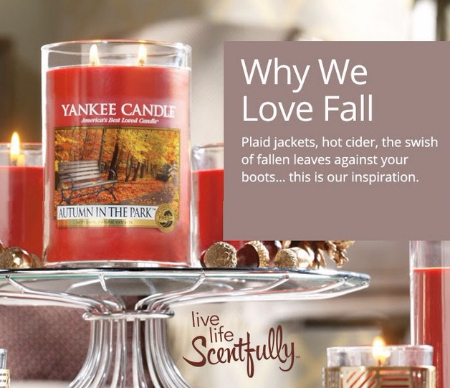 Autumn in the Park Fragrance Candle