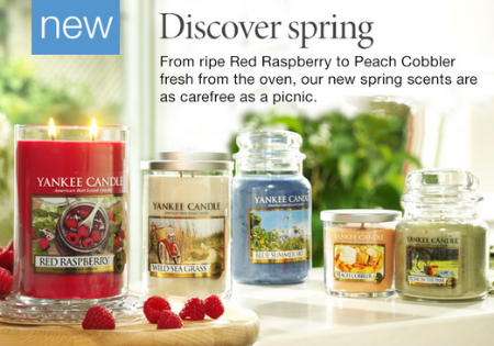 New Spring Fragrances at Yankee Candle
