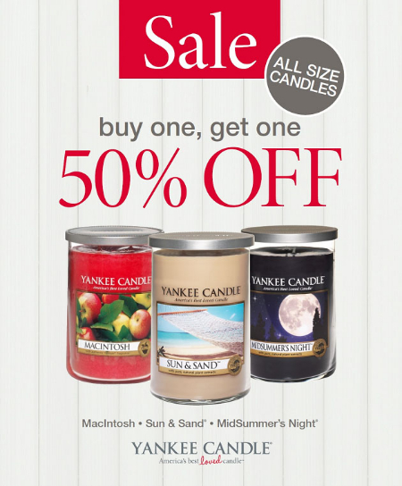 July Savings at Yankee Candle Co.