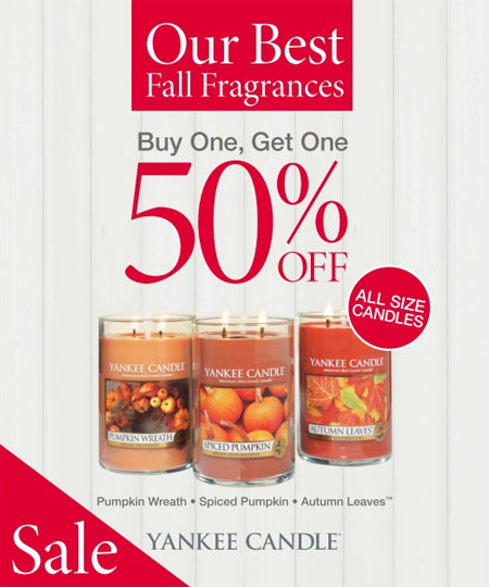 Yankee Candle September Savings at Yankee Candle Co.