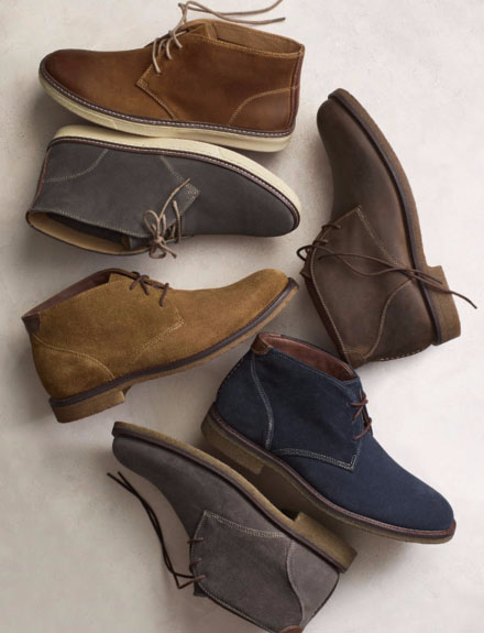 Shop The New Chukka Boots