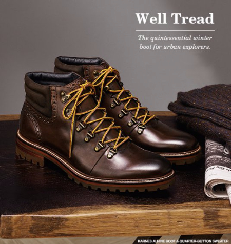 The Quintessential Winter Boot for Urban Explorers