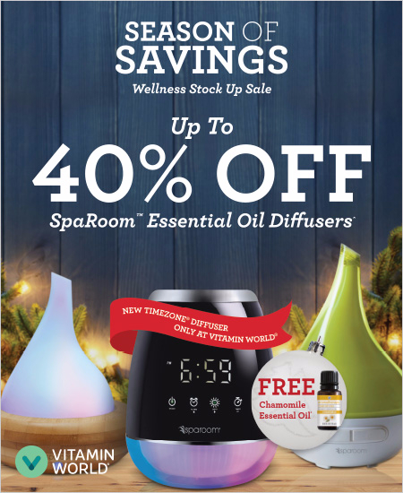 Up to 40% OFF SpaRoom™ Essential Oil Diffusers*