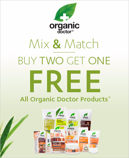Buy Two Get One FREE^ All Organic Doctor Products