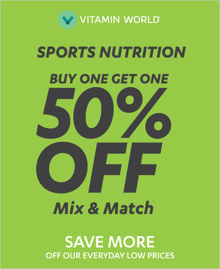 Buy One Get One 50% OFF Sports Nutrition^