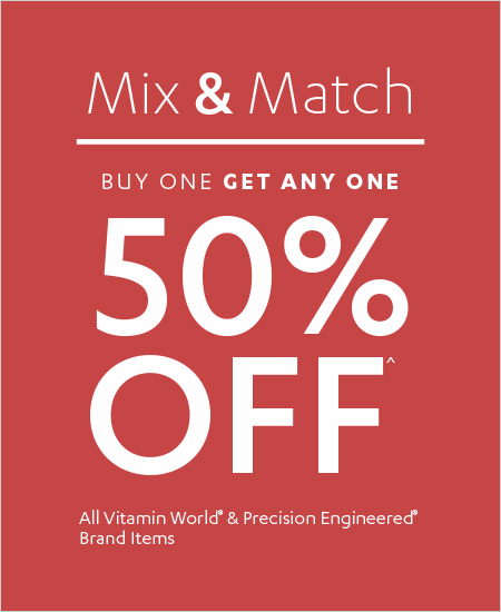 Buy One Get Any One 50% OFF