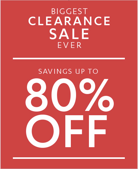 Biggest Clearance Sale Ever