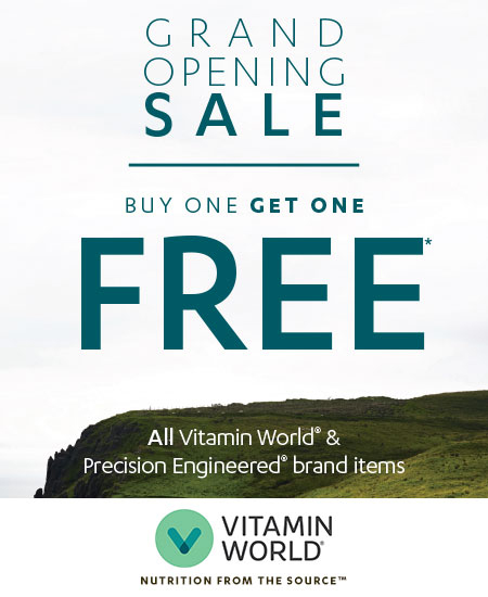 Buy 1 Get 1 Free All Vitamin World & Precision Engineered brand items